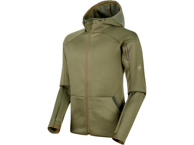 bda877c2 Mammut Logo Jakke Herrer, olive melange | Find outdoortøj, sko ...
